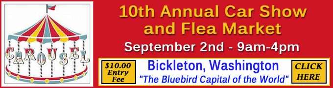 Bickleton Car Show and Flea Market