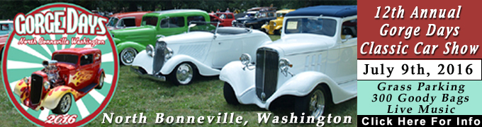 Gorge Days Car Show North Bonneville, Washington