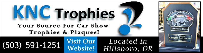Car Show Trophies by KNC Trophies