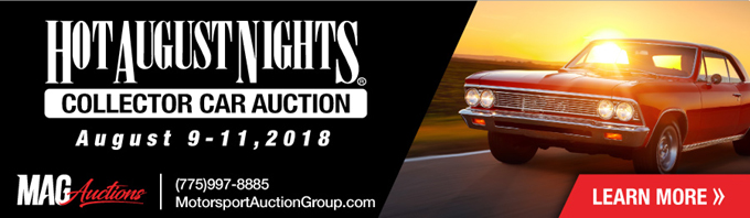 Hot August Nights Collector Car Auction