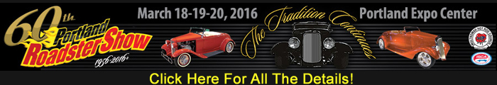 60th Anniversary Portland Roadster Show 2016