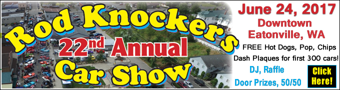 Rod Knockers Car Show 2017 Eatonville WA