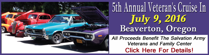 Salvation Army Veterans & Family Center Cruise In