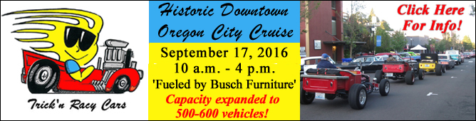 Trick N Racy Historic Downtown Oregon City Cruise