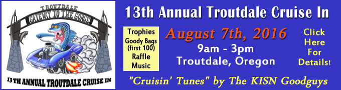 Troutdale Kiwanis Cruise In 2016