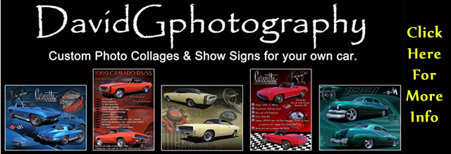 David G Photography Collages and Car Show Signs