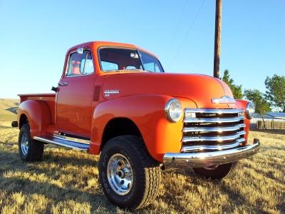Rick Sandford S 1953 1 2 Ton Chevy Pickup Classic Cars Trucks