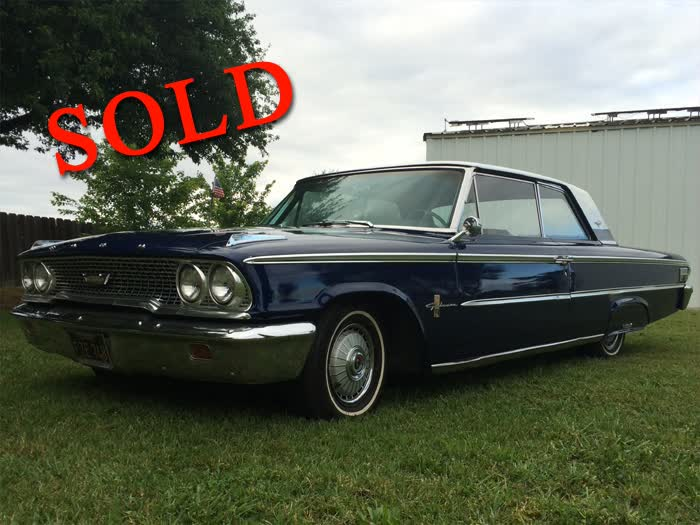 1963 Ford Galaxie 500XL <font color=red>*SOLD*</font color>