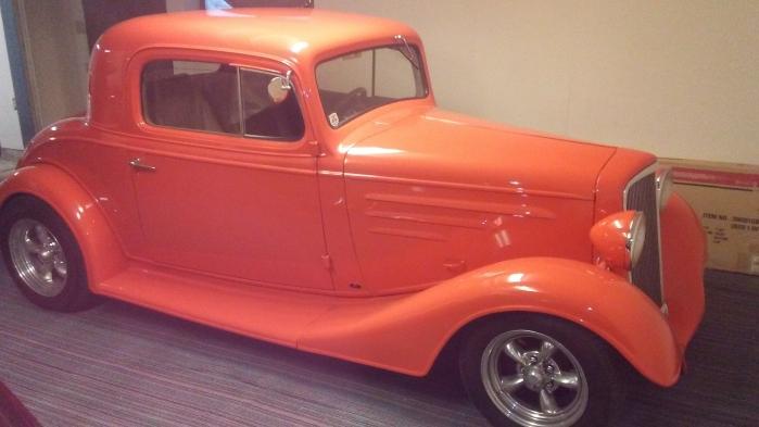 1935 Chevrolet Steel Body 3 Window Coupe