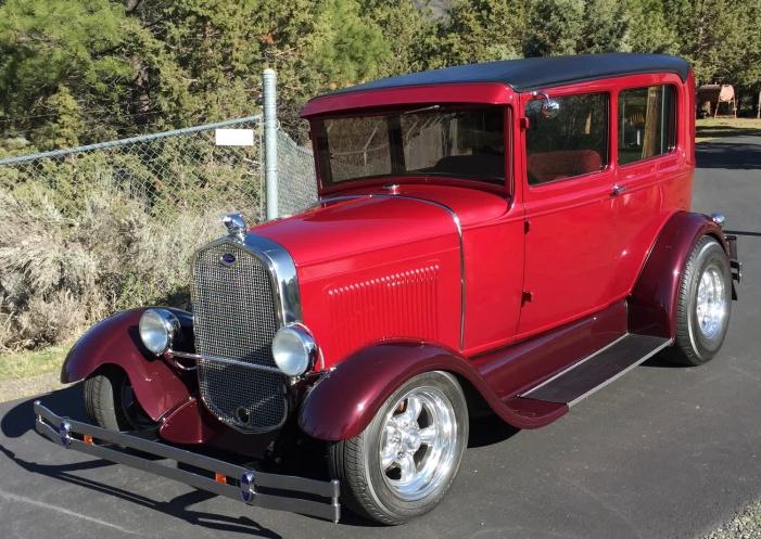 1930 Ford Model A 2 Door Sedan