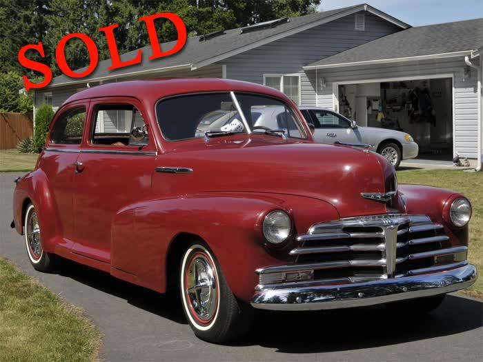 1948 Chevrolet 2 Door Sedan