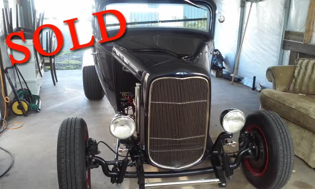 1932 Ford Highboy 3 Window