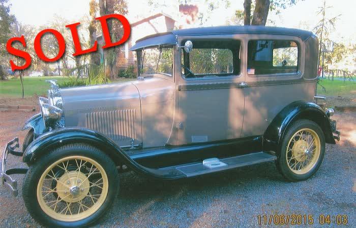 1929 Ford Tudor Sedan <font color=red>*SOLD*</font color>