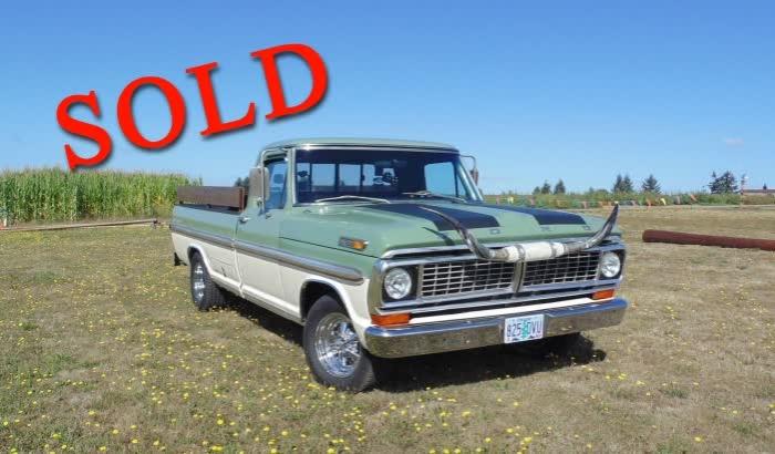 1970 Ford F100 XLT Ranger Pickup Truck 460