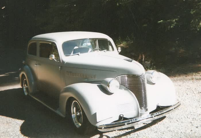 1939 Chevrolet Master 85 2 Door Street Rod