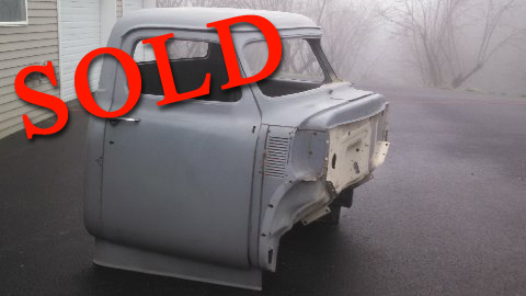 Used Part - 1955 Ford Cab With Chopped Top