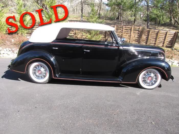 1938 Ford Convertible Sedan Built in 50's Style Kustom Kruiser