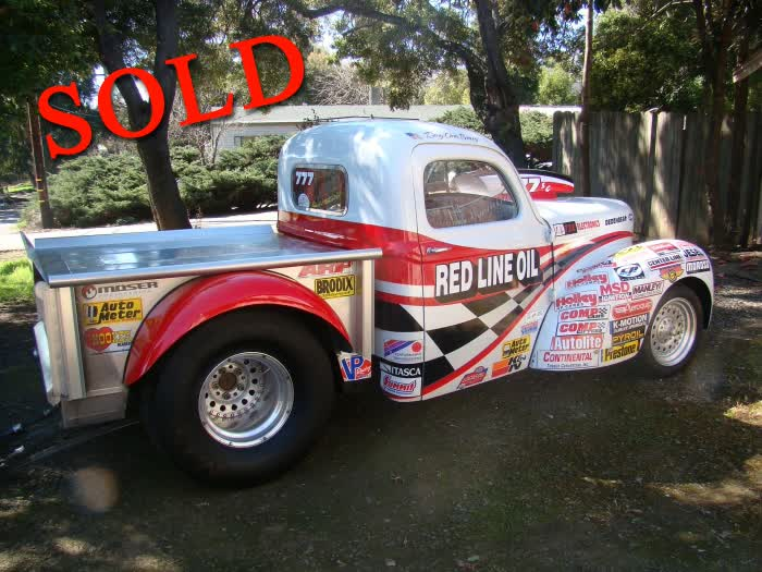 1940 Willys Pickup Race Car, Rolling Chassis