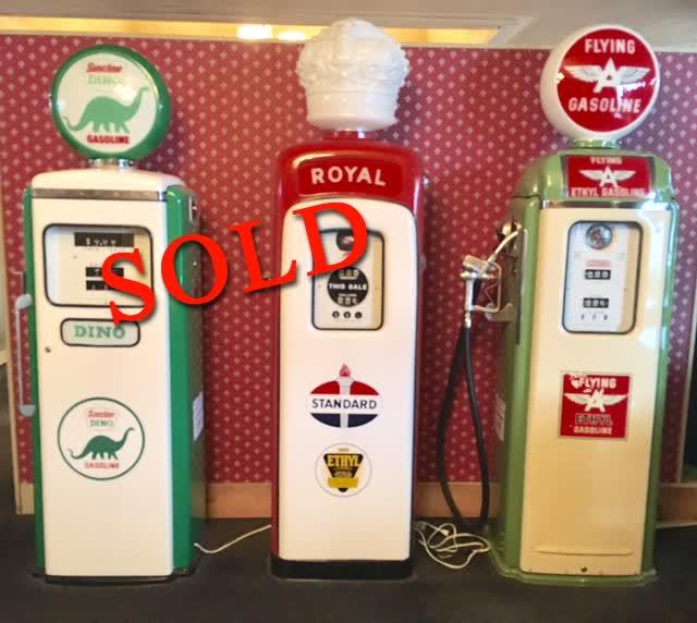 Gas Pumps For Sale - Fully Restored <font color=red>*SOLD*</font color>