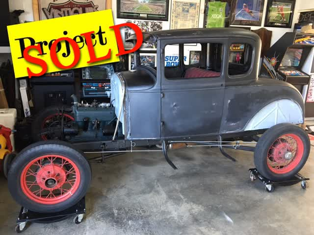 1930 Ford 5 Window Coupe <font color=red>*SOLD*</font color>