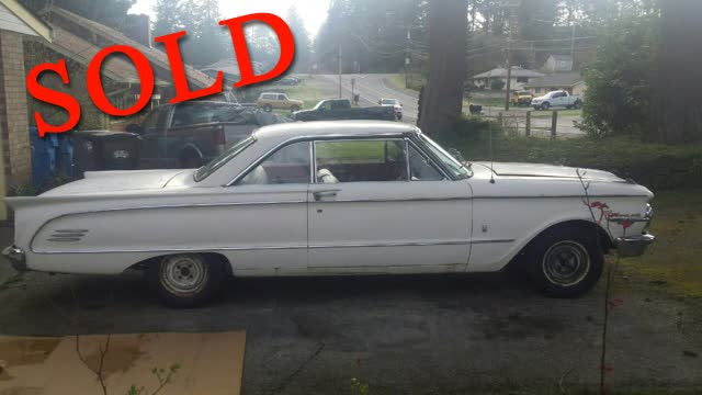 1963 Mercury Comet 2 Door Hardtop