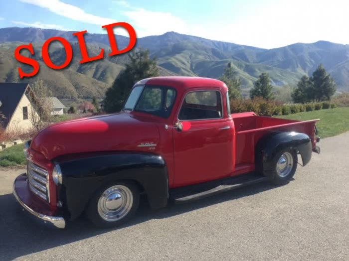 1949 GMC Pick up Truck 5 Window Restored <font color=red>*SOLD*</font color>