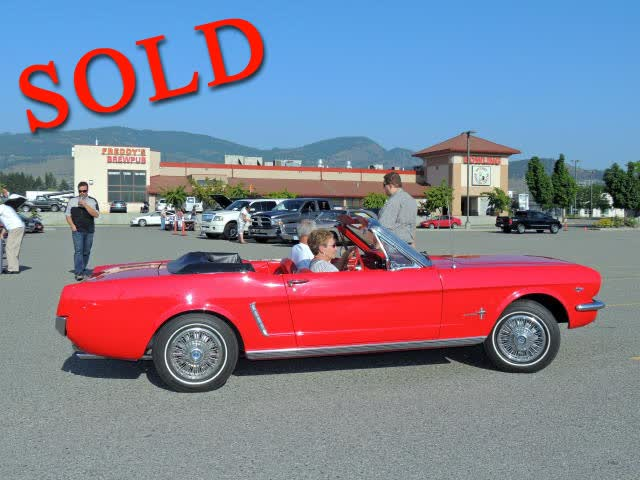 1965 Ford Mustang Convertible <font color=red>*SOLD*</font color>