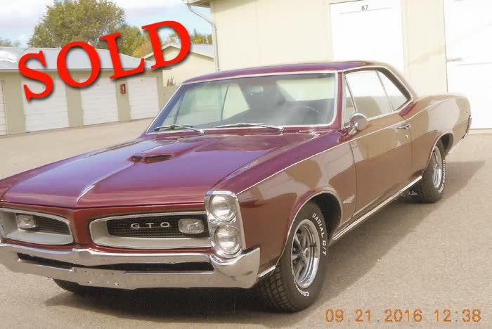 1966 Pontiac GTO 2 Door Hardtop <font color=red>*SOLD*</font color>