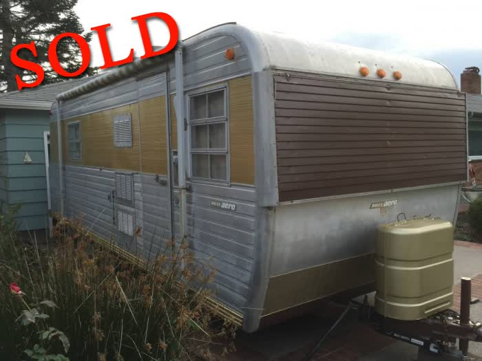 1964 Boles Aero 24 Ft Vintage Travel Trailer