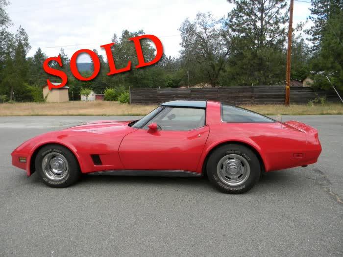1981 Chevrolet Corvette <font color=red>*SOLD*</font color>