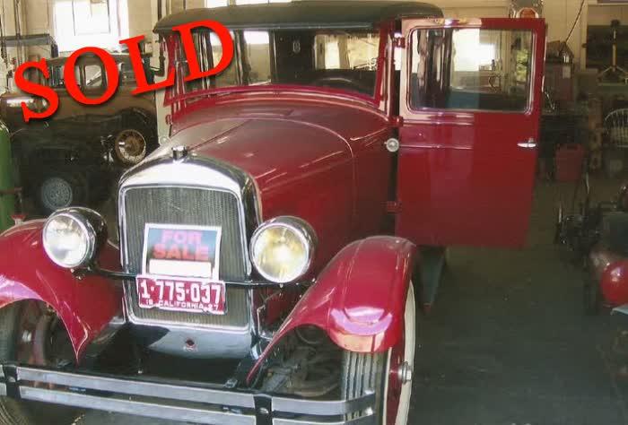 1927 Paige 4 Door Sedan Model 665