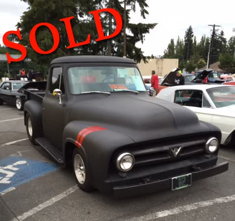1954 Ford F-100 Pick Up Truck <font color=red>*SOLD*</font color>