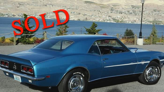 1968 Chevrolet Camaro RS/SS <font color=red>*SOLD*</font color>