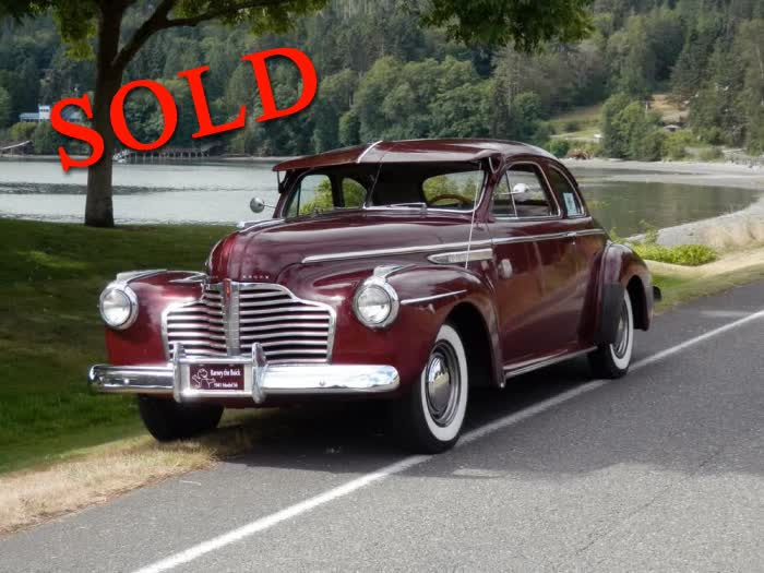 1941 Buick Model 56 Super Business Coupe <font color=red>*SOLD*</font color>
