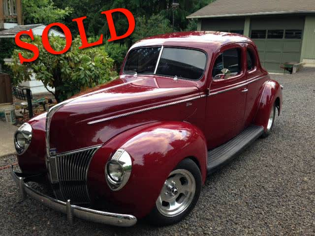 1940 Ford Standard Coupe <font color=red>*SOLD*</font color>