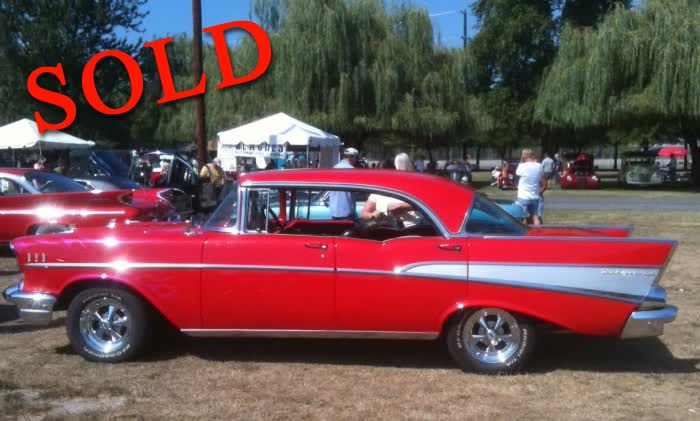Belair Auto Auction >> Classified Ads - Classic Cars For Sale - 1957 Chevrolet Belair 4 Door Hardtop *SOLD* - Classic ...