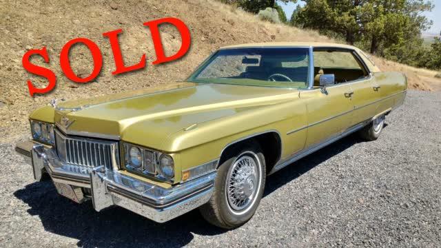 1973 Cadillac Sedan Deville <font color=red>*SOLD*</font color>