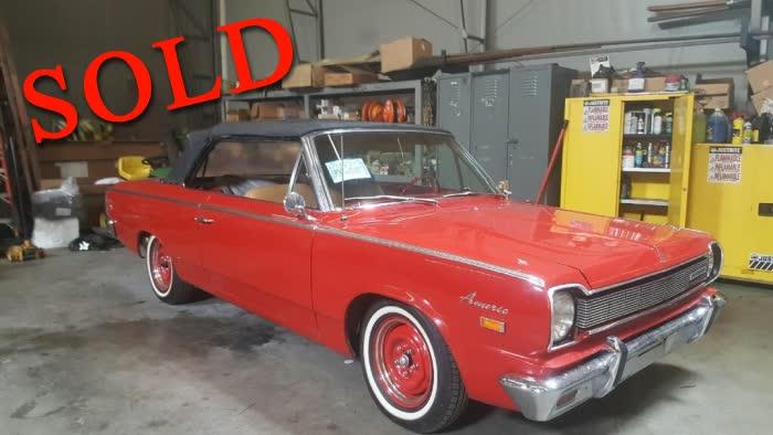 1966 Rambler American 440 Convertible<font color=red>*SOLD*</font color>