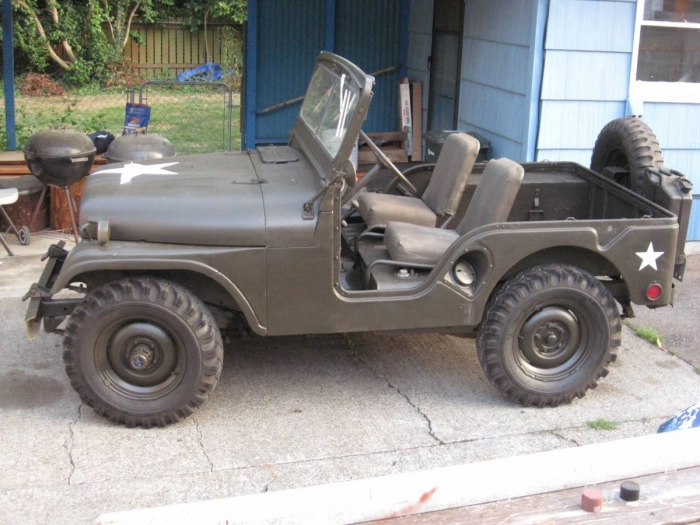 1955 Willys Military Jeep M38A1