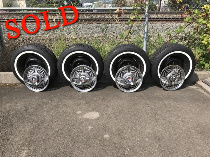 Used Parts - 4 New Coker American Classic Collector Radial Tires <font color=red>*SOLD*</font color>