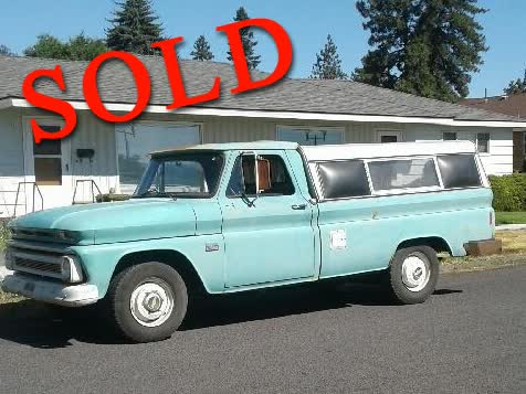 1966 Chevrolet C20 Survivor 95K Original Miles