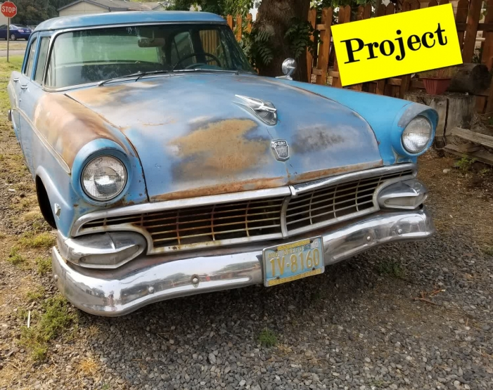 1956 Ford Custom 4 Door Project All Original