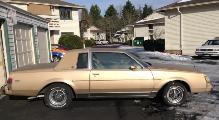1985 Buick Regal Limited 3.8 V6 2bbl