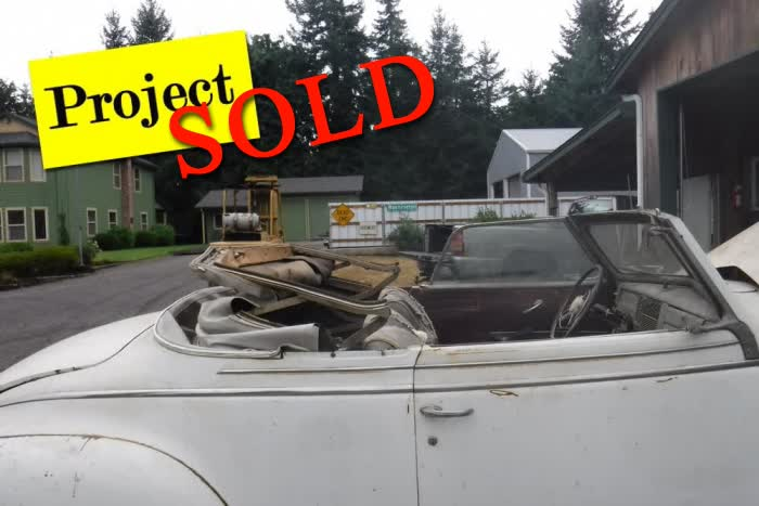 1941 Plymouth Special Deluxe Convertible <font color=red>*SOLD*</font color>