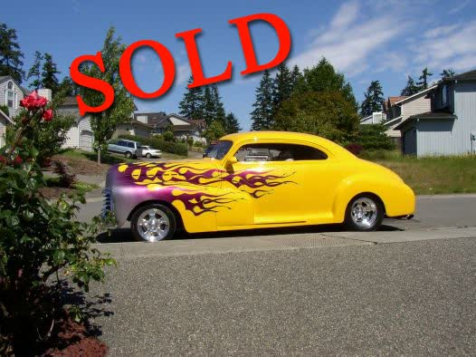 1946 Chevrolet 2 Door Custom Coupe All Steel <font color=red>*SOLD*</font color>