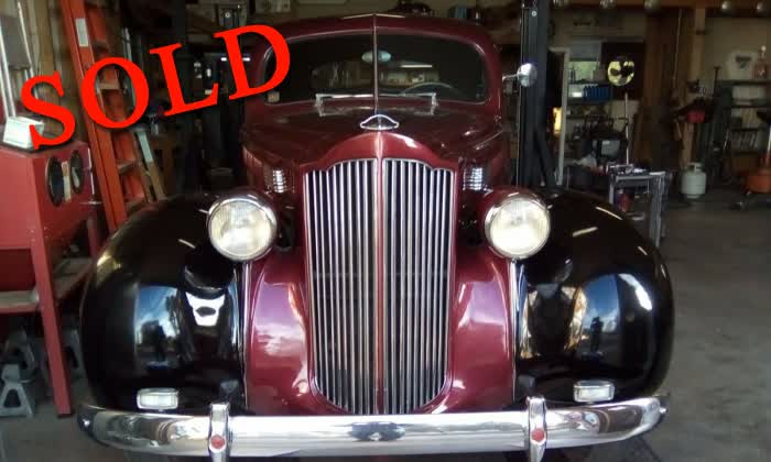 1938 Packard 110 1600 Club Coupe