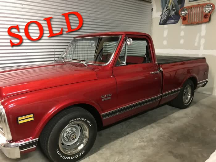 1970 Chevrolet Pickup Truck <font color=red>*SOLD*</font color>