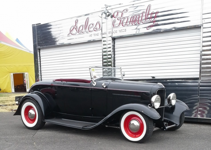 1932 Ford Roadster ORIGINAL STEEL (Hot Rodded)