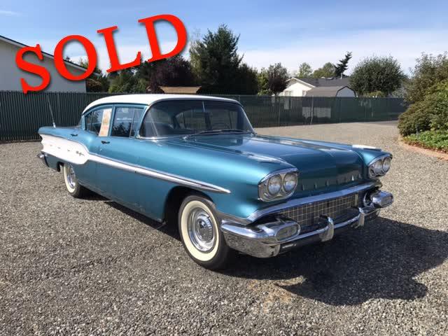 1958 Pontiac Chieftain <font color=red>*SOLD*</font color>