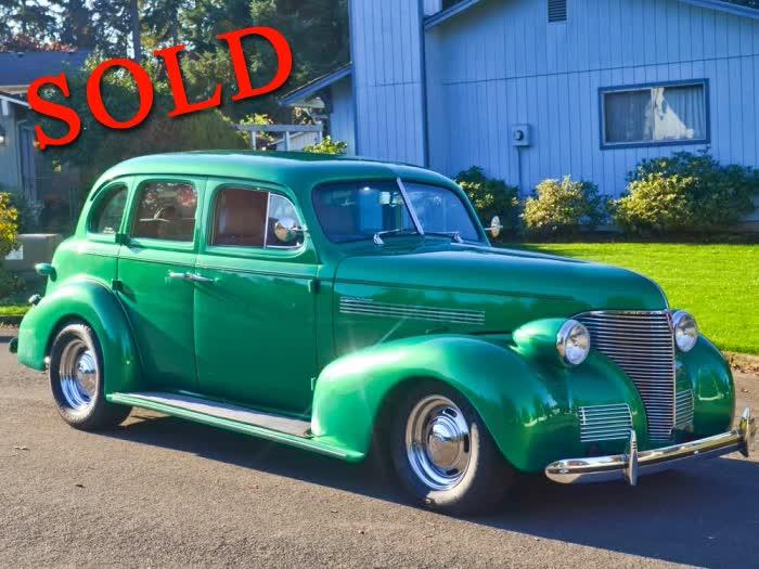 1939 Chevrolet 4 Door Sedan